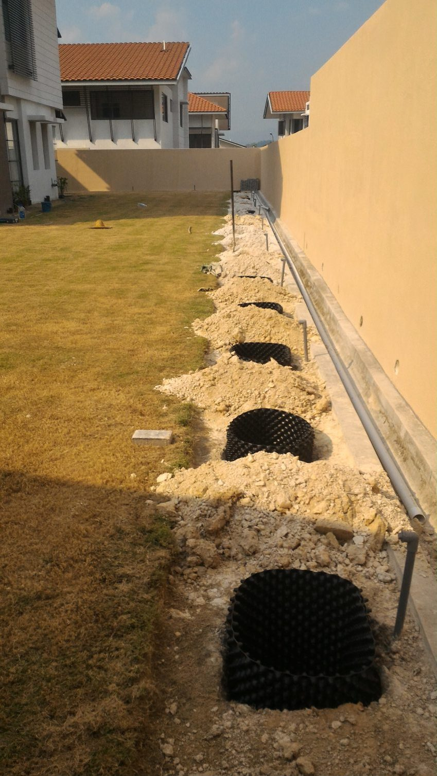 Installation of Root Barrier